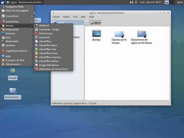 Remplacer windows xp par xubuntu dans un environnement sambaÉdu